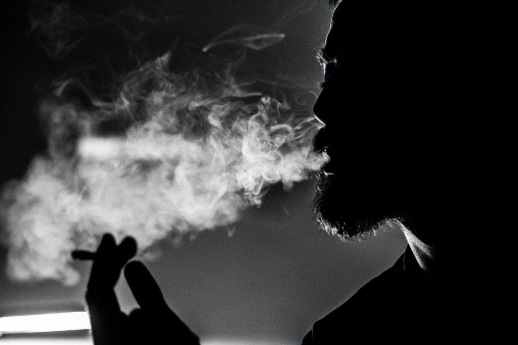 smoking weed before bed