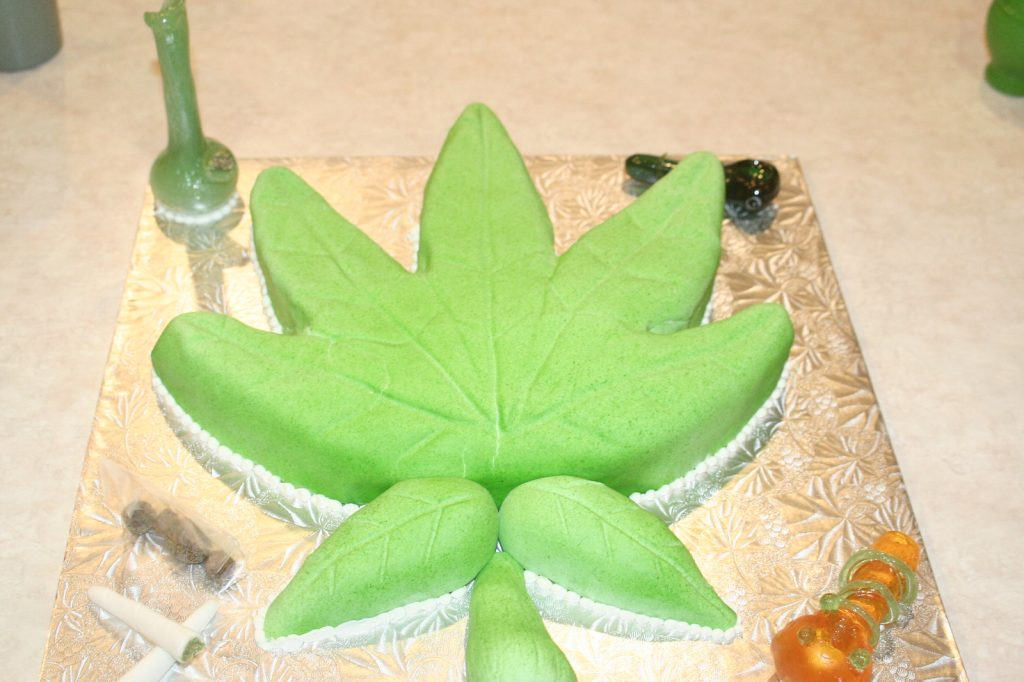 how to make weed cake
